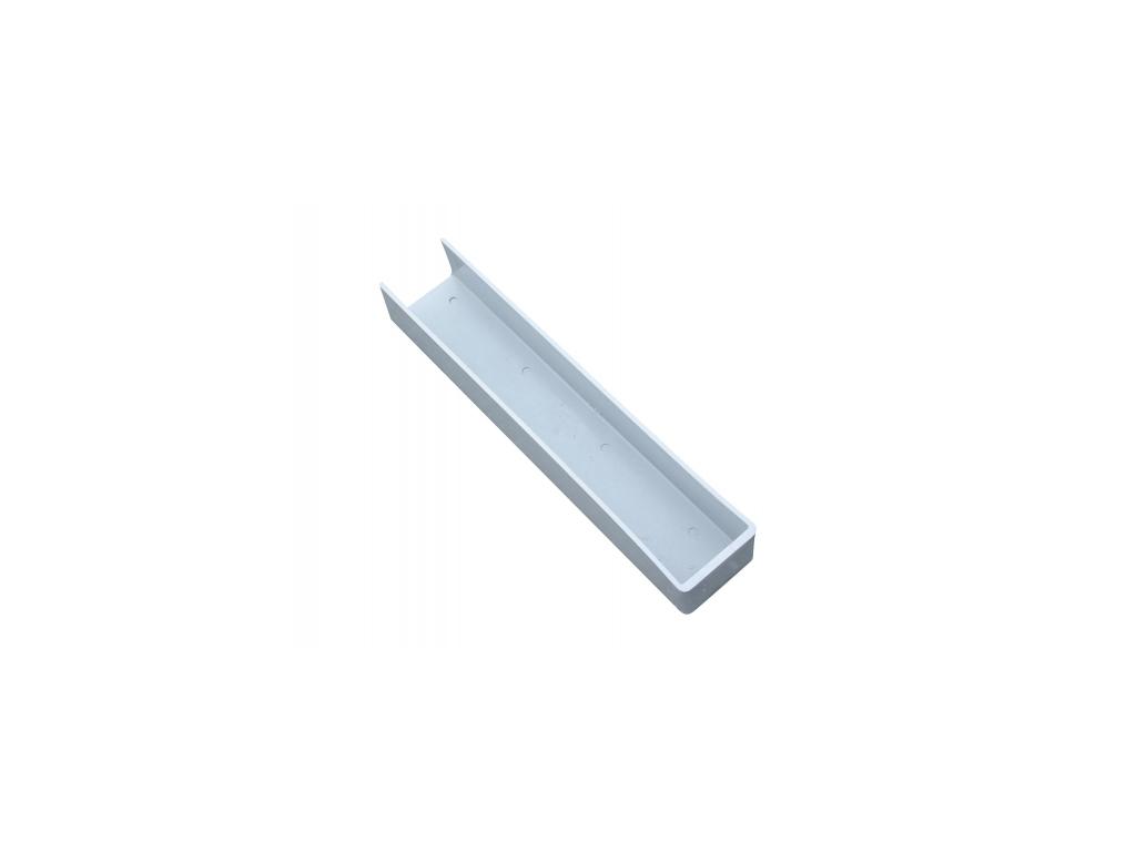 3563 drzak podhrabove desky pvc vyska 200 mm koncovy
