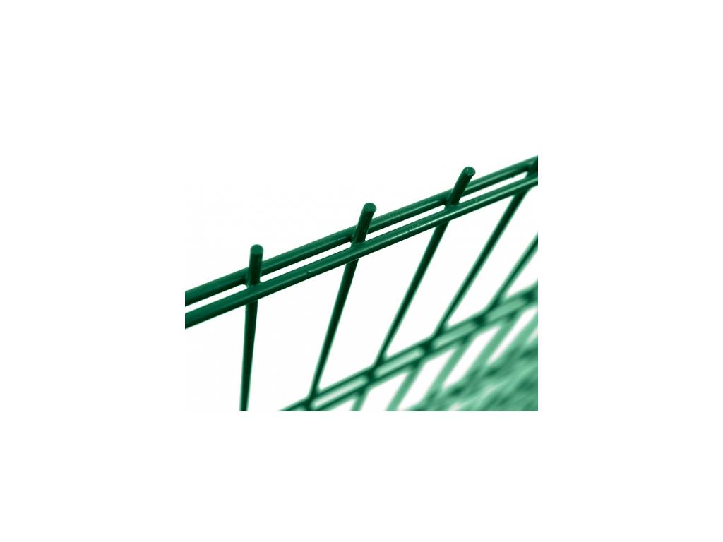 3647 plotovy panel 2d super zn pvc vyska 203 cm dratu 6 5 6 mm zeleny