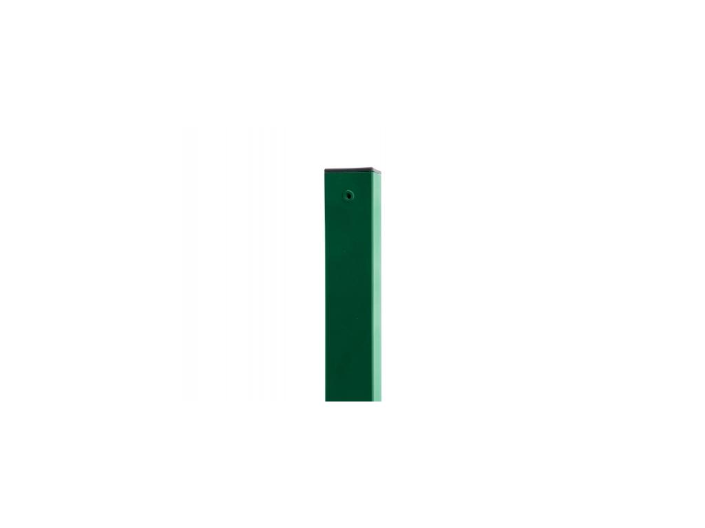 3677 sloupek 60x60 mm pvc zeleny vyska 320 cm