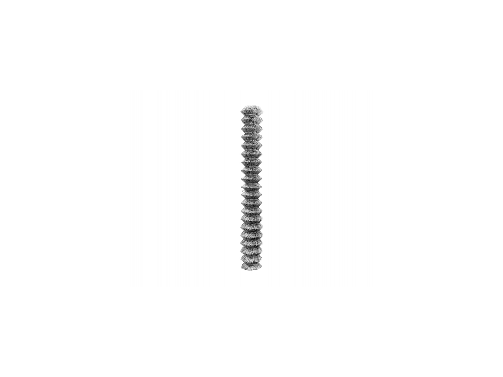 4043 pozinkovane ctyrhranne pletivo bez nd kompakt vyska 125 cm drat 2 0 mm oko 50x50 mm zn