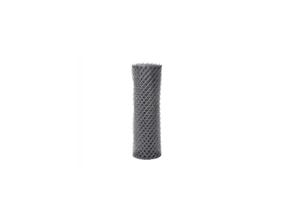 4061 pozinkovane ctyrhranne pletivo s nd zapletene vyska 125 cm drat 2 0 mm oko 50x50 mm zn