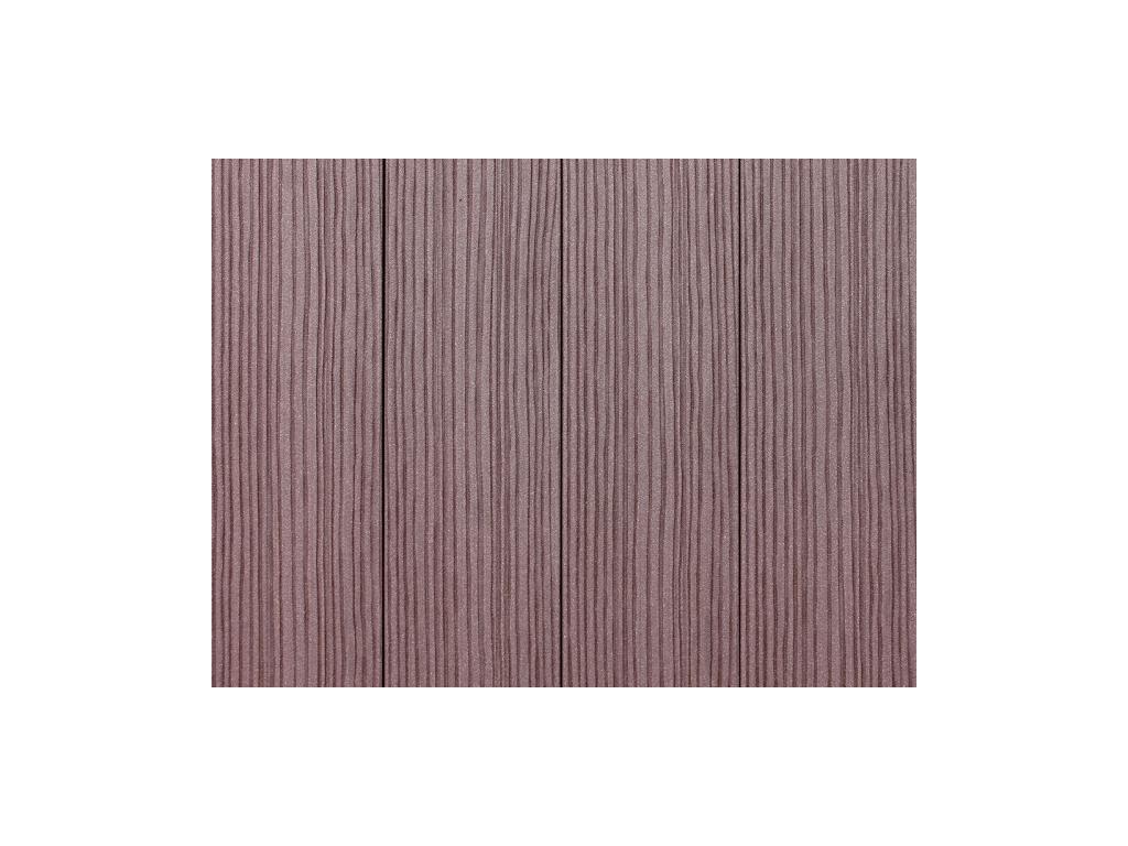 4148 plastova plotovka wpc hneda rozmer 90x16x1500 mm