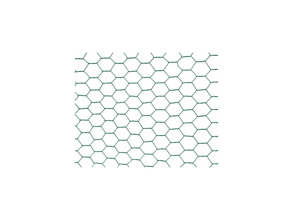 chovatelske sestihranne pletivo poplastovane zn pvc 13 mm vyska 100 cm role 10 m 8595068410769