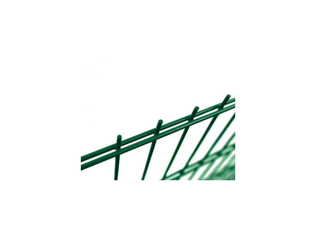 5949 plotovy panel 2d super strong zn pvc vyska 243 cm dratu 8 6 8 mm zeleny