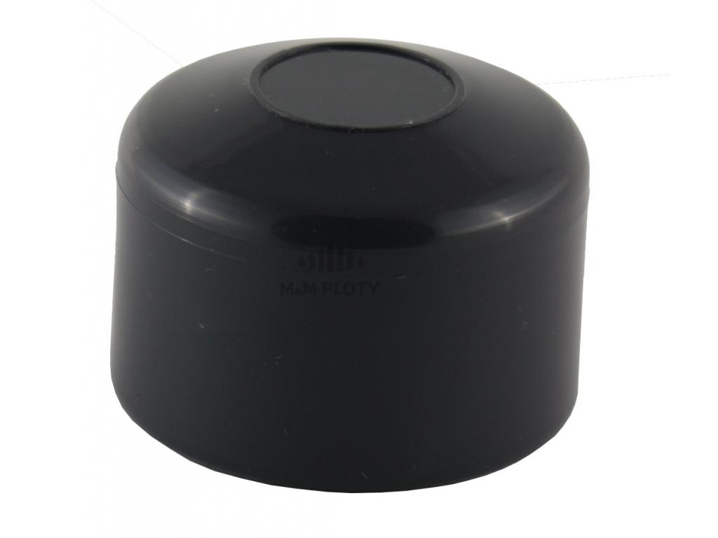 6018 2 cepicka pvc prumer 48 mm antracit