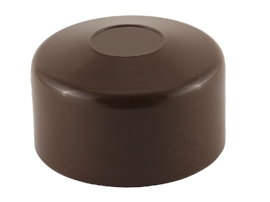 6030 cepicka pvc prumer 42 mm hneda