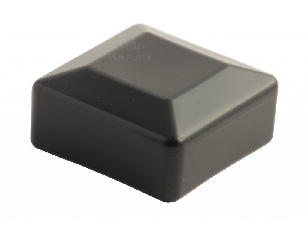 6108 cepicka pvc 70x70 mm cerna