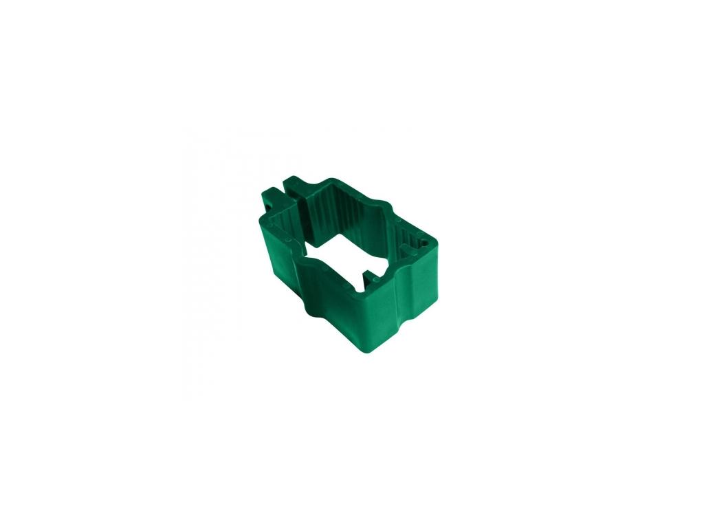 objimka na panely pilofor pro sloupek 60 40 pvc zelena 8595068450338