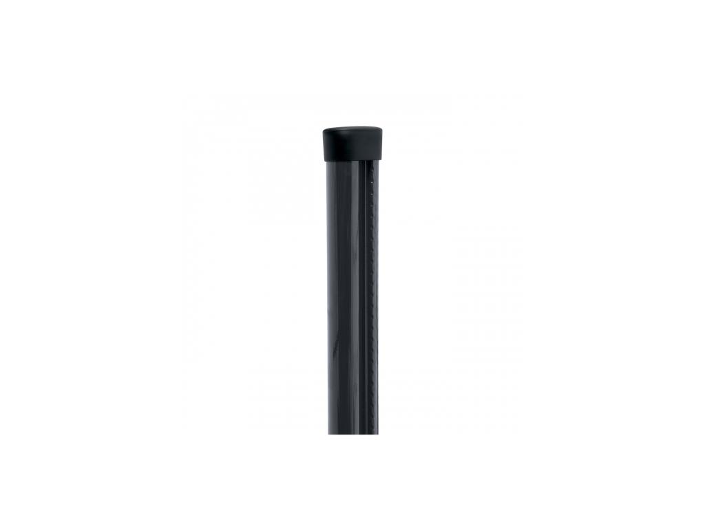 plotovy sloupek s montazni listou pilclip poplastovany zn pvc 1700 48 barva antracit 8595068450918