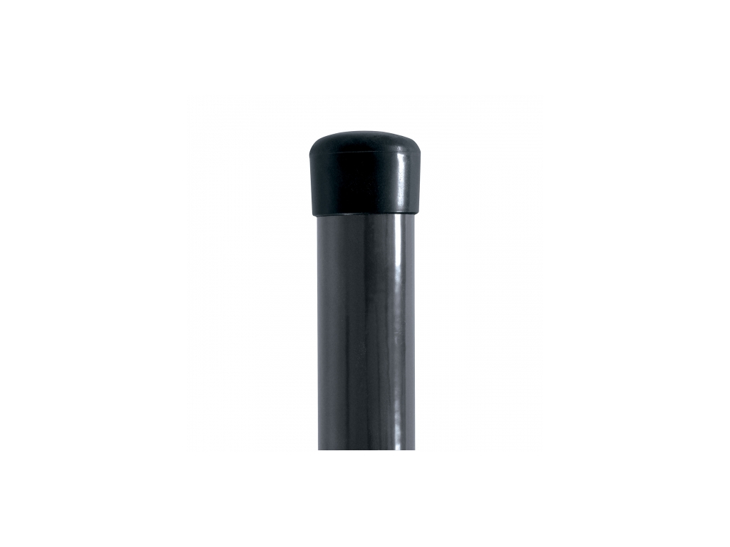 plotovy sloupek ideal poplastovany zn pvc 1750 48 barva antracit bez prichytky 8595068450871