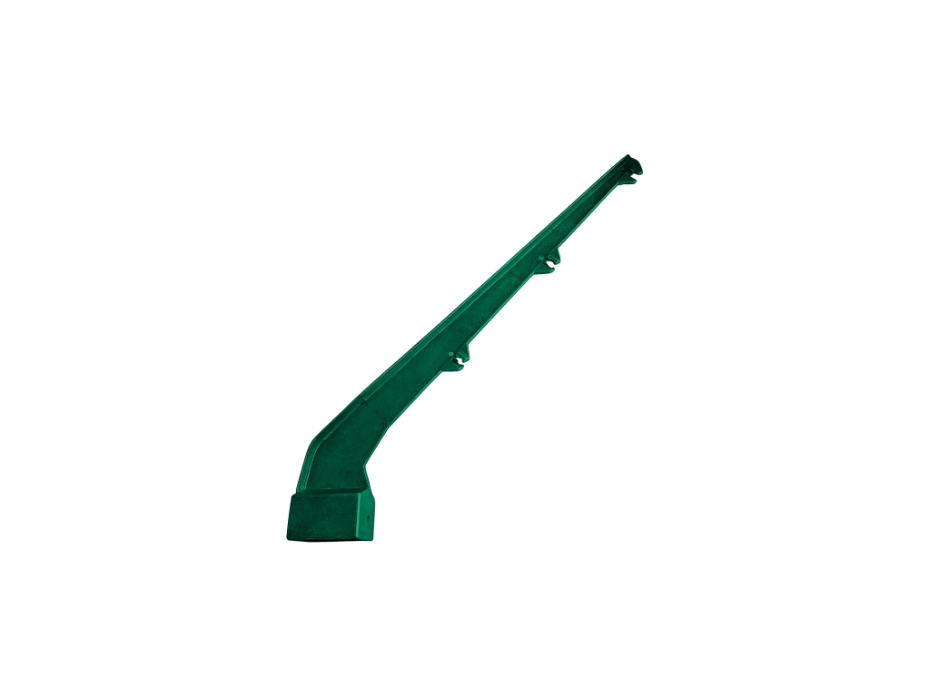 bavolet hlinikovy pvc na sloupek 60 40 mm jednostranny 8595068451632