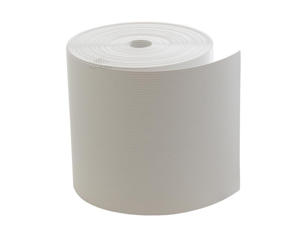 stínící páska panelového plotu bílá