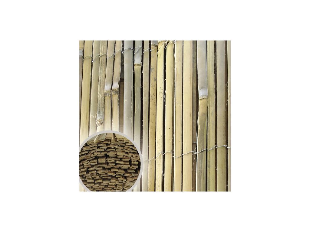 stipany bambus bamboopil vyska 100 cm delka 5 m 8595068453032