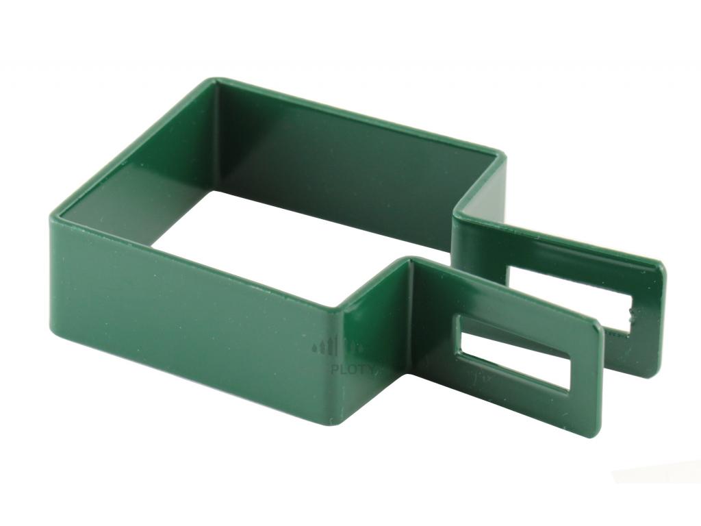 objímka panelu 50 zelená