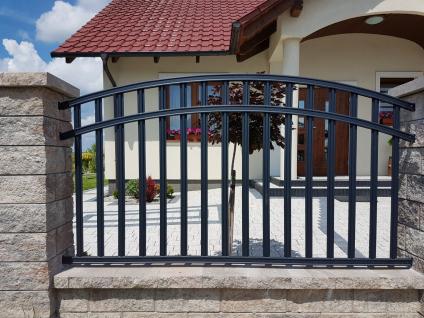 kovové plotové pole radius
