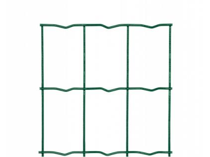 3131 svarovane pletivo middle drat 2 2 mm vyska 80 cm pvc zelene