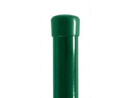 3242 plotovy sloupek tenis zeleny prumer 60 mm vyska 490 cm