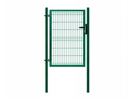 3389 jednokridla branka panel 3d zelena rozmery 1094x1245 mm zn pvc