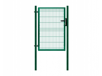 3398 jednokridla branka panel 3d zelena rozmery 1094x2045 mm zn pvc