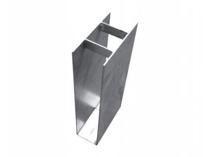 3551 drzak podhrabove desky zn vyska 200 mm prumer 48 mm prubezny