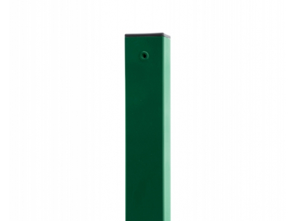 3656 sloupek 60x60 mm pvc zeleny vyska 170 cm