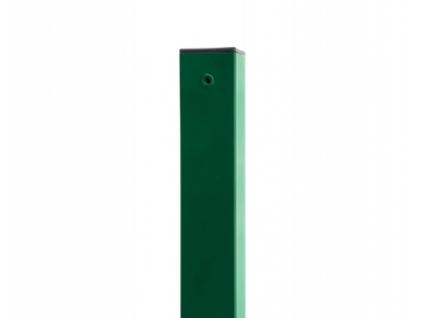3665 sloupek 60x60 mm pvc zeleny vyska 240 cm