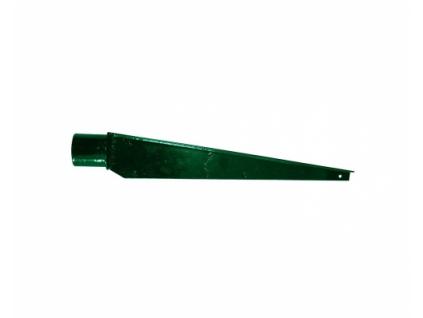 bavolet rovny pro sloupky o prumer u 48 mm poplastovany zn pvc 8595068400661