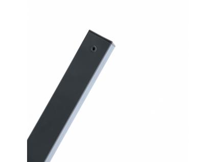 sloupek pilofor poplastovany zn pvc 60 60 mm delka 170 cm barva antracit 8595068452424