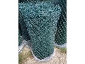 Poplastované pletivo STANDART s ND výška 160 cm, drát 2,5 mm, oko 50x50 mm, PVC, zelené