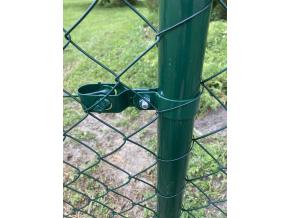 Objímka SUPER na sloupek 60 mm, zelená