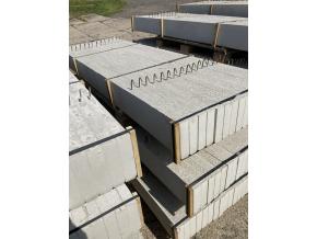 Podhrabová deska hladká 2500x200x50 mm