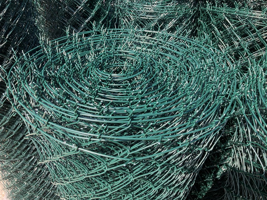 Čtyřhranné pletivo Zn+PVC 150 cm, zapletené, drát 2,5 mm, zelené