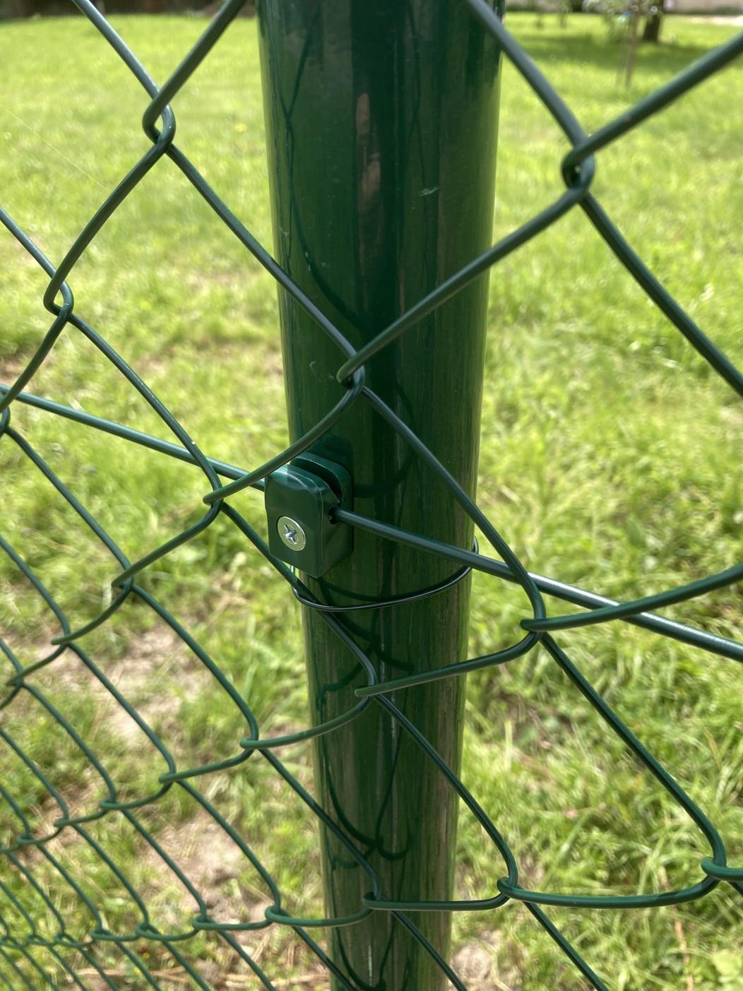 Pletivo poplastované výška 125 cm bez ND (2,5 mm; 55x55 mm; PVC; zelené)