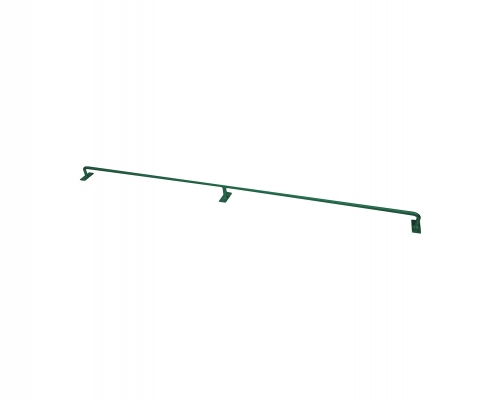 Konzole pro pletivo Zn+PVC zelená, výška 100 cm, průměr 12 mm
