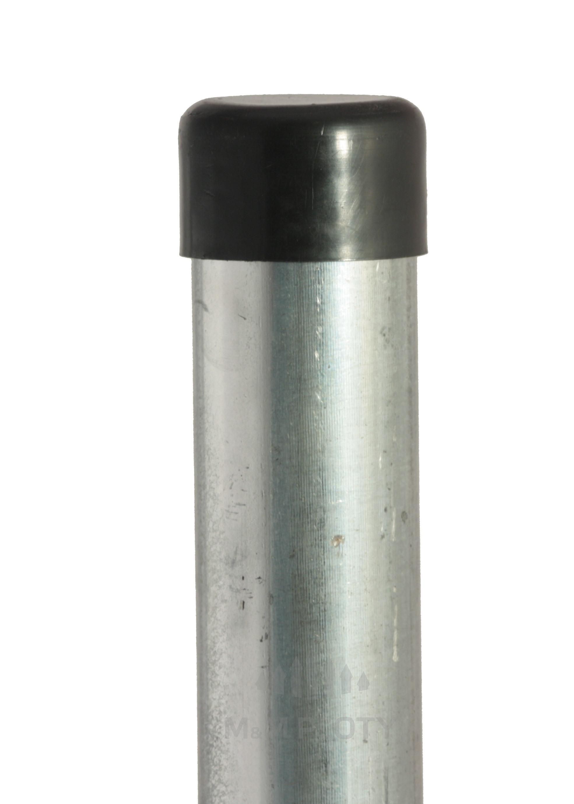 Plotový sloupek pozinkovaný, průměr 38 mm, výška 175 cm, Zn