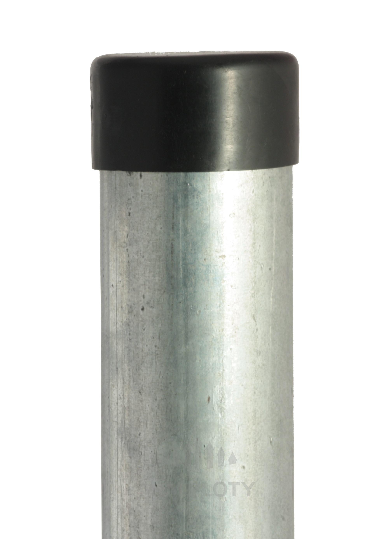 Plotový sloupek pozinkovaný, průměr 48 mm, výška 175 cm, Zn