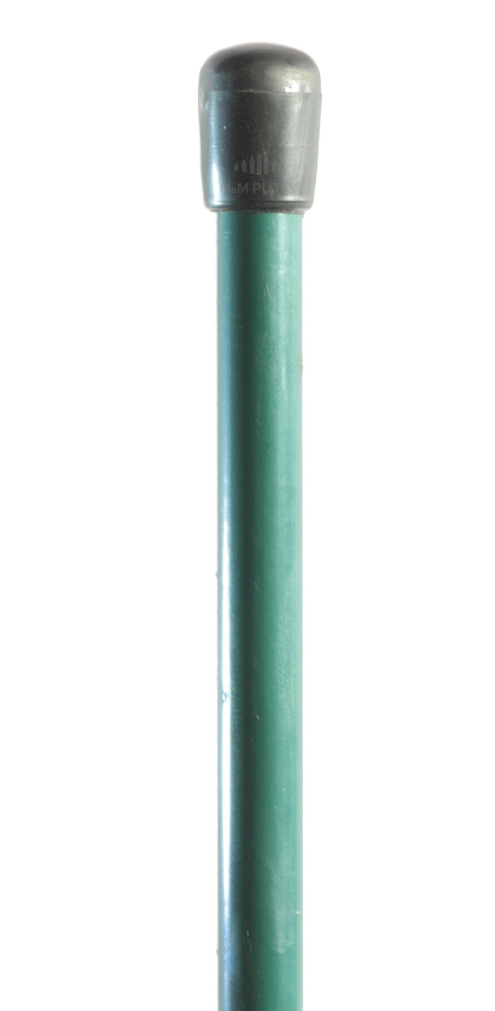 Napínací tyč Zn+PVC, zelená, 1850 mm