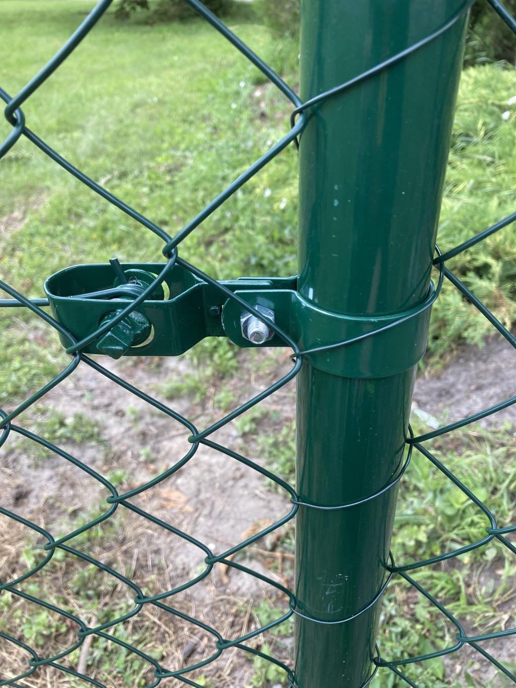 Objímka SUPER na sloupek 48 mm, zelená