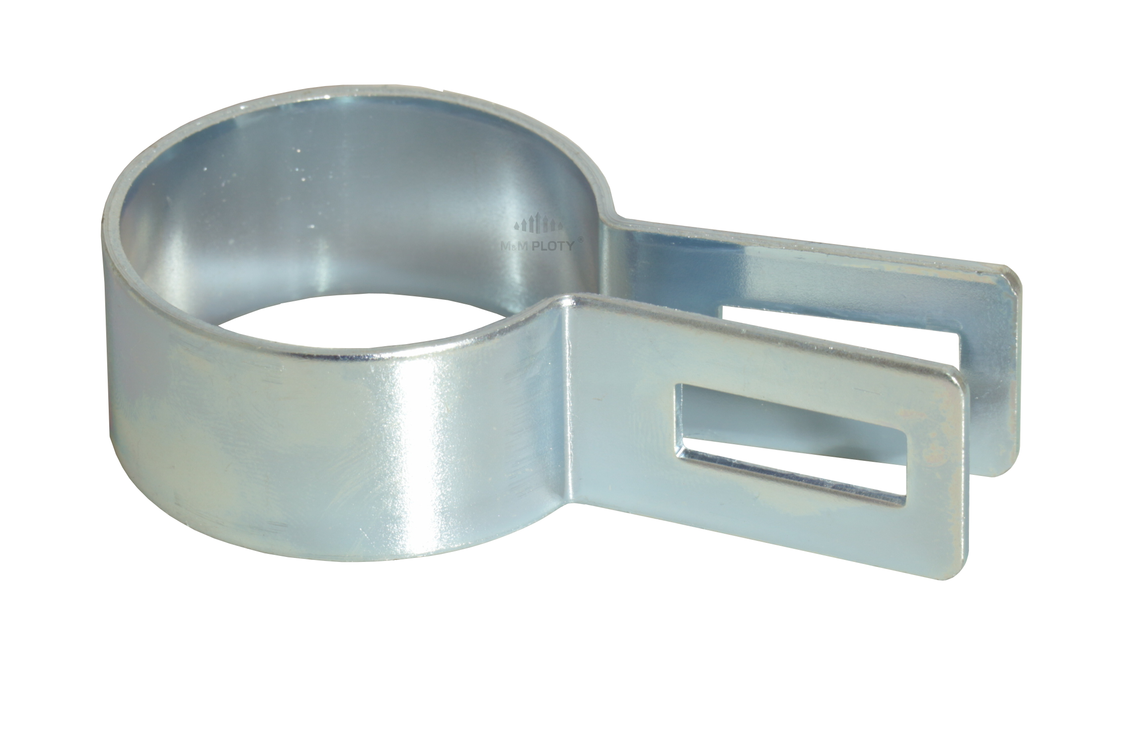 Objímka plotového panelu pro sloupek 48 mm, koncová, Zn