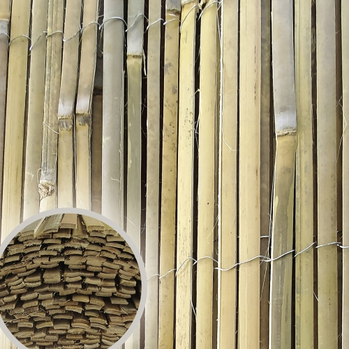 Štípaný bambus k zastínění, výška 100 cm