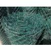 poplastované zelené pletivo s napínacím drátem