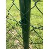 plotový sloupek kulatý zelený
