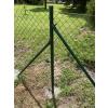 sloupek na plot kulatý zelený
