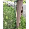 Konzole pro pletivo Zn+PVC, výška 200 cm, průměr 12 mm