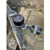 cerna cepicka na plotovy sloupek 48