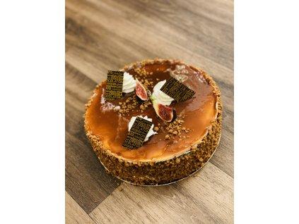 Podzimní dort se slaným karamelem