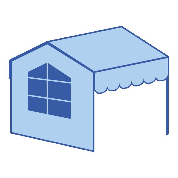 Pevné krytí – sedlová/pultová střecha