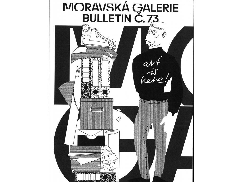 Bulletin MG č. 73 - Archivy umělců a umělecké archivy