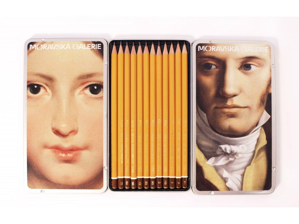 Tužky - sada Moravská galerie (12 ks)