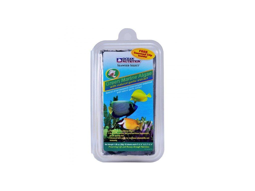 ocean nutrition green marine algae mit knoblauch 30g